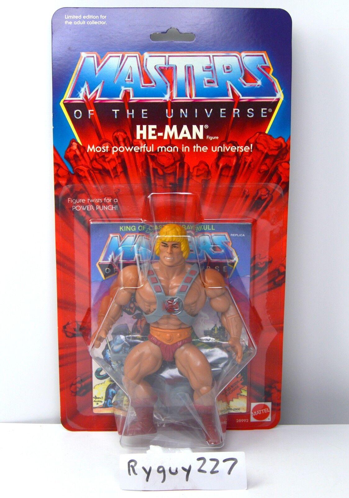 MOTU, Commemorative He-uomo, MISB, sealed scatola, MOC, Masters of  the Universe  prendiamo i clienti come nostro dio