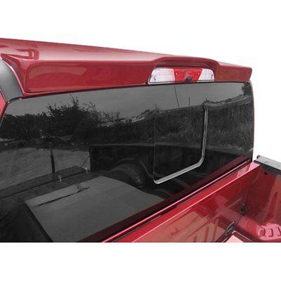 For Ford F-250 Super Duty 17-18 Spoiler Custom Style Fiberglass Flush Mount Rear