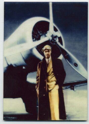 Howard Hughes Color METAL Trading Card American Aviation Pioneer