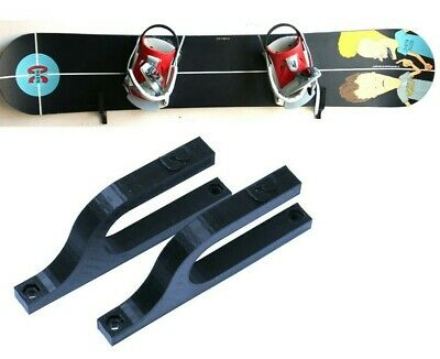 Skateboard Wand Halterung Longboard Snowboard Halter in verschiedenen Farben