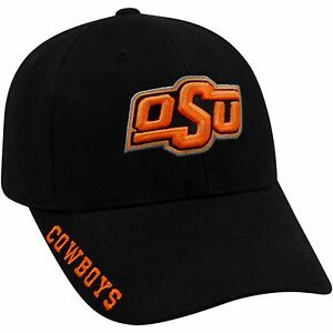 bca09b3b72e Image is loading Oklahoma-State-Cowboys-Hat-NWT-NEW-Black