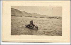 Afrika-Africa-Orient-Einheimischer-badet-im-Nil-Agypten-Photo-Wandelt-1910-20