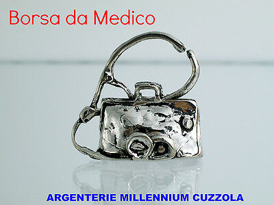 Puntuale Bomboniera Borsa Medico Con Stetoscopio Fonendoscopio Bomboniere Laurea Medicina