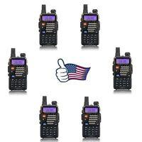 6x Baofeng < Uv-5r+ Plus > V/uhf 136-174/400-520mhz Dual Band Fm Two Way Radio on sale
