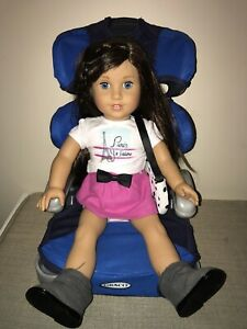 GRACO DOLL Booster Car Seat fits American Girl & Bitty ...
