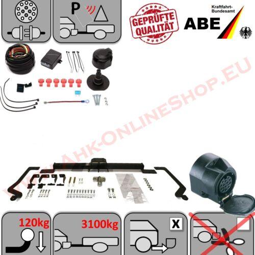 AHK Peugeot Boxer nur L4 Maxi 06 Anhängerkupplung ES13 Einparkhilfe Abschaltung