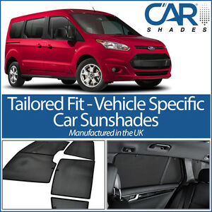 Ford Transit Connect 5dr 2013 Car Shades Window Sun Blinds