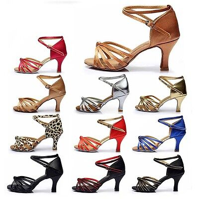Ballroom Brand New Latin Dance Shoes for Women//Ladies//Girls//Tango/&Salsa heeled