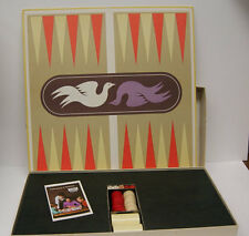 Vintage 1975 Love Bird BackGammon Board Game by S and R