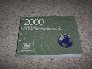 2000 ford excursion wiring diagram 2000 ford excursion electrical wiring diagram manual xlt limited  2000 ford excursion electrical wiring