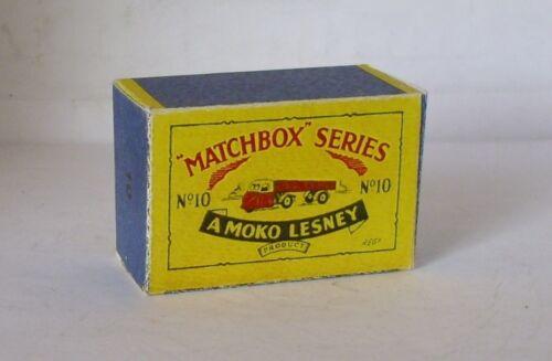 Repro box Matchbox 1:75 nº 10 Mechanical Horse and trailer