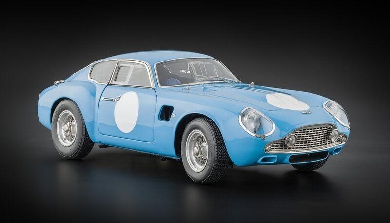 CMC M-140 Aston Martin DB4 GT Zagato bluee 1 18 Diecast Car NEW - AUTH DEALER
