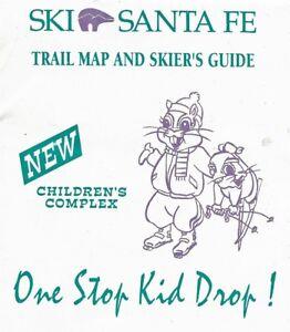 Details about Ski Santa Fe New Mexico Vintage Trail Map And Skiers on flagstaff ski map, colorado ski map, taos ski map, pamporovo piste map, new mexico ski map, red river nm map, jackson hole ski map, aspen ski map, red river ski area map, mont tremblant ski map,