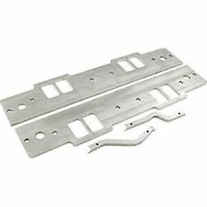 "Details about Dart 62210004 SBC Intake Manifold Spacer Kits w/End Rail, 18  Degree, 9 325"" Port"