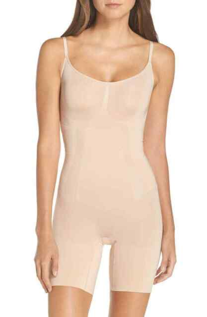 Spanx Oncore Open-Bust Bodysuit Soft Nude M NEW A309723