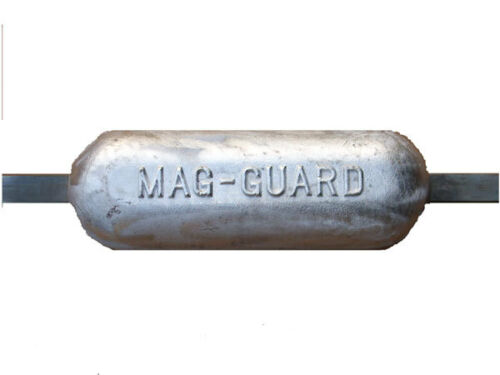 river Magnesium anode 4.1kg narrow boat cruiser. yacht barge Canal