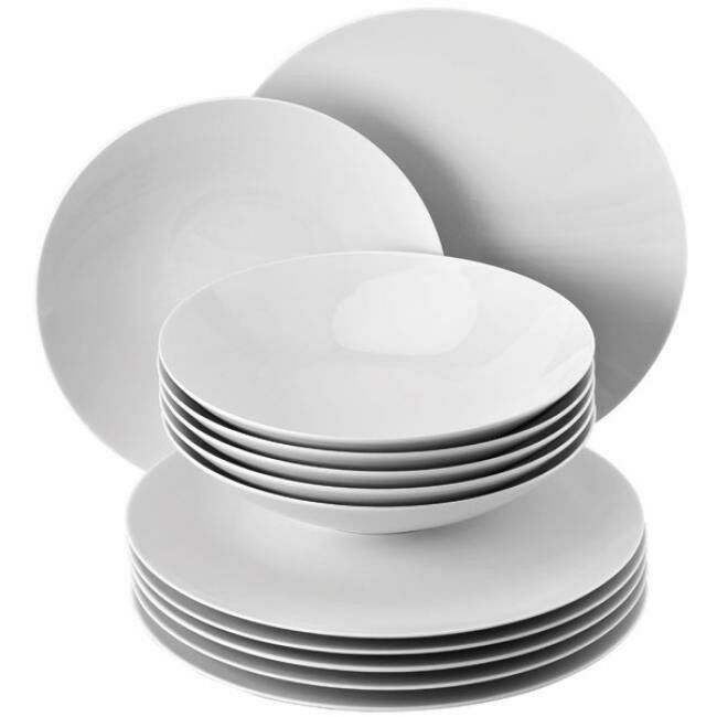rosanthal stoviglie tafelset TAC bianco (12 pezzi)