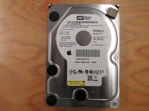 """WD CAVIAR 320GB 3.5/"""" 3.0 HDD HARD DRIVE 655-1380D WD3200AAJS DCM HBRNNTJCAN"""
