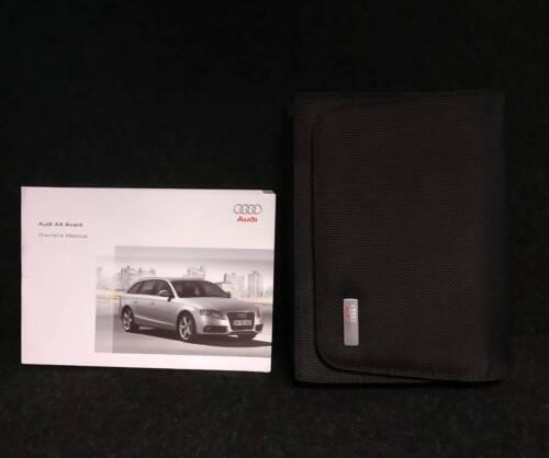 Genuine AUDI A4 Avant Handbook manuel portefeuille Navi 2008-2011 Pack L-416