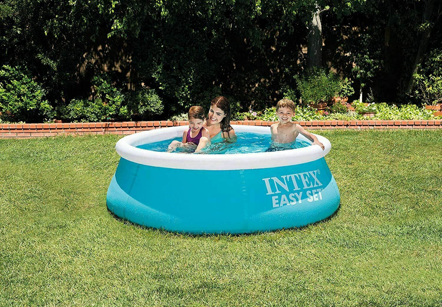 183cm x 51cm Intex Easy Set Swimming Pool Round Kids LARGE Family Without Pump