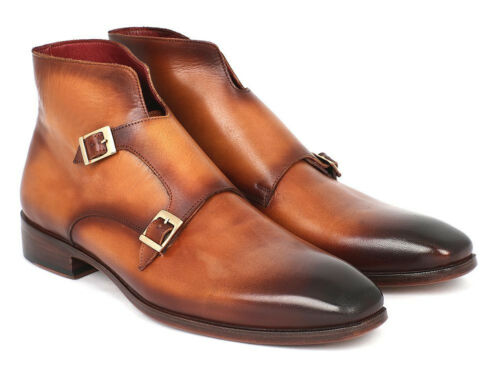 Brown Monkstrap Parkman brw 8154 Paul Double id Boots S14TWxI