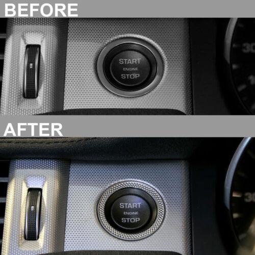 Autobiografia di uno stile di Inizio Stop Interruttore Surround per Range Rover VELAR pulsante Trim