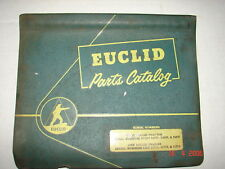 Euclid Parts Manual Catalog 28tdt Tractor 122w Trailer
