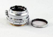 Canon Lens 2.8/35 mm, Serial #27528 - 6 Element Lens - E-P Logo, in case