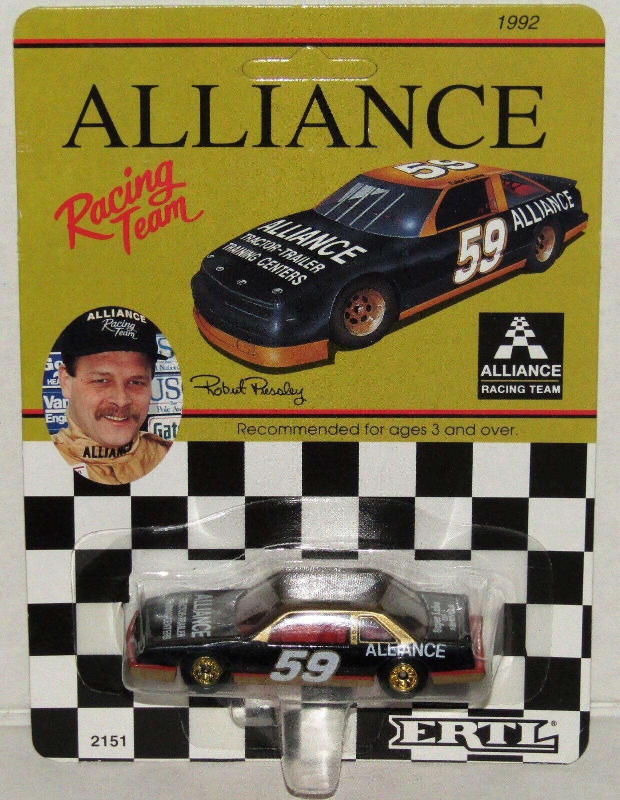 Robert Pressley ERTL 1992 Alliance Racing NASCAR Busch Series 1 64 Diecast Car