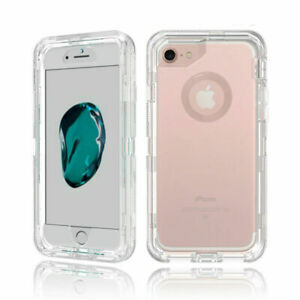 Clear-Defender-Transparent-Case-for-iPhone-Xr-Xs-8-7-amp-Plus-Clip-fits-Otterbox