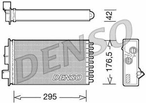 DENSO (DRR12022) Wärmetauscher, Innenraumheizung