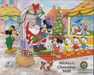 Walt-disney-figuren Aesthetic Appearance Dominica Block140 Postfrisch 1988 Micky Maus kompl.ausg.