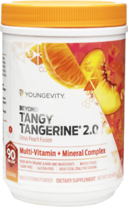 Youngevity-Beyond-Tangy-Tangerine-2-0-Citrus-Peach-Fusion-scratch-n-dent
