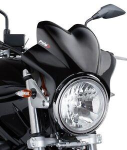 Windscreen Puig Wv For Honda Hornet 600900 Fly Screen Black Ebay