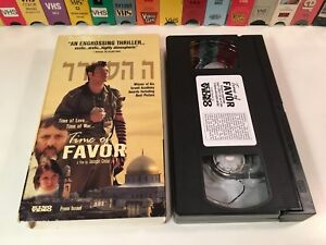 Time-Of-Favor-Israeli-Drama-VHS-2000-Aki-Avni-Joseph-Cedar-Kino-Video