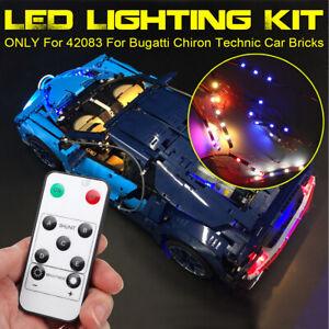ONLY-LED-Light-Lighting-Kit-For-LEGO-42083-For-Bugatti-Chiron-Technic-Car