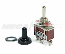 Toggle Switch Heavy Duty 20a125v Spdt On Off On Withwaterproof Boot Usa Seller