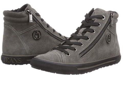 Grigio Scarpe Armani G2 Donna Jeans Taupe Sneakers 62 Grey Originali B55g4 885wqOr4