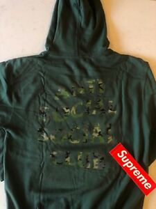 f0263682d979 Anti Social Social Club Woody Green hoodie Camo 100% Authentic Rare ...