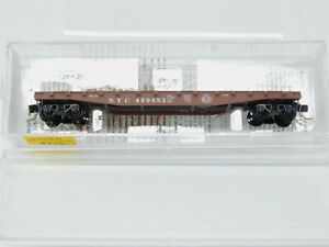 N-Scale-MTL-Micro-Trains-45040-NYC-New-York-Central-50-039-Flat-Car-499853-RTR