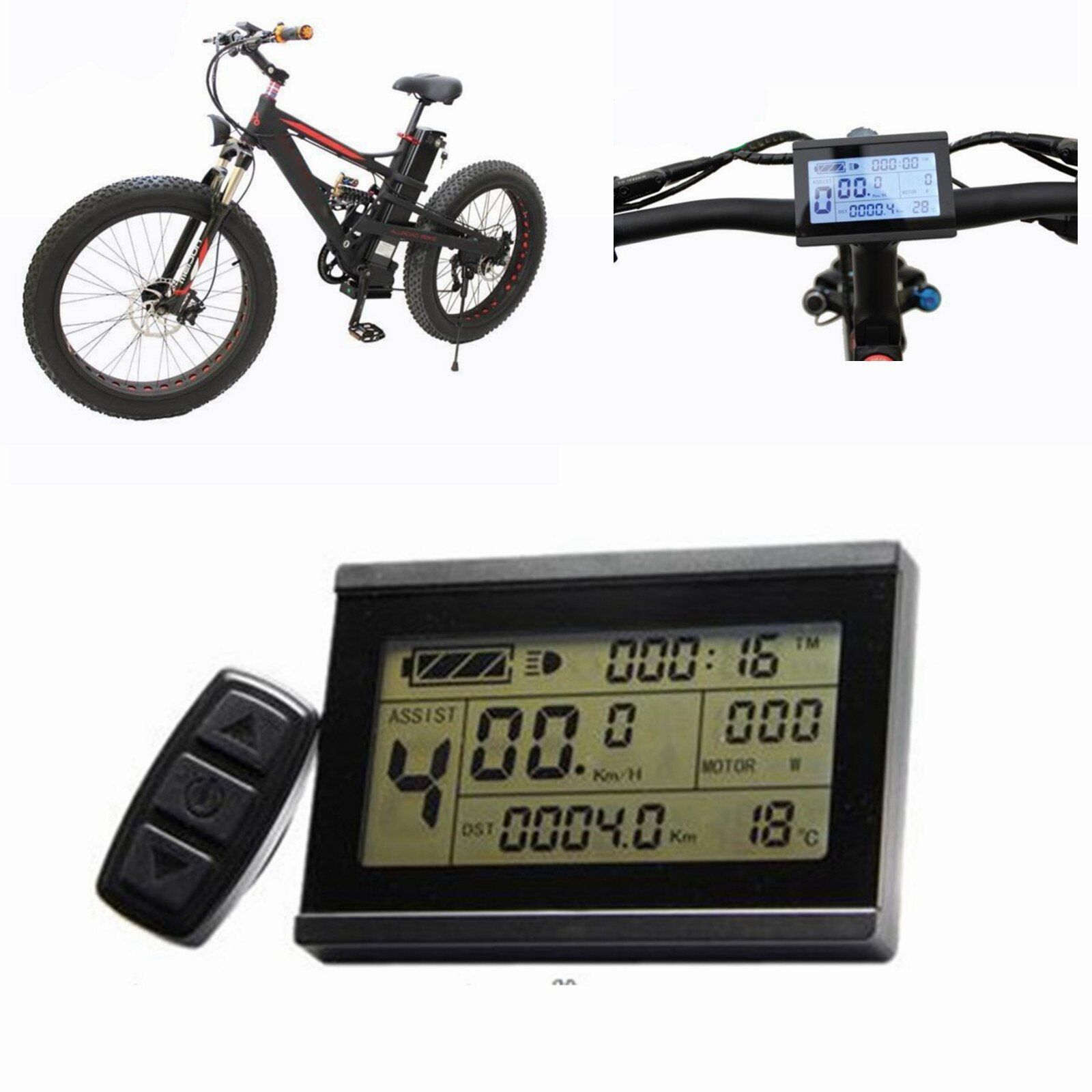 24-48V Risunmotor LCD3 Display Meter   Control Panel  For e-Bike Electric Bicycle  best reputation