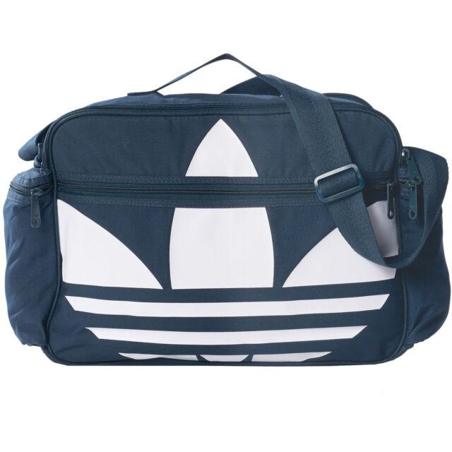 e4cedbf4f8 adidas Airliner Canvas Bag Petrol Ink Originals Shoulder Bag S20066 ...
