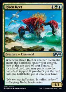 MRM ENGLISH Risen Reef - Récif émergent MTG magic M20