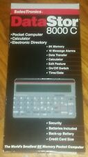 Vintage SelecTronics DataStor 8000c Calculator brand new in original box ANTIQUE