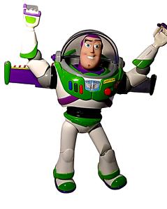"Disney Pixar 12"" Talking Light-Up Buzz Lightyear Action Figure Toy Story"