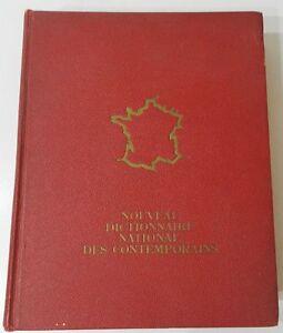 NOUVEAU-DICTIONNAIRE-NATIONAL-DES-CONTEMPORAINS-4eme-EDITION-1966