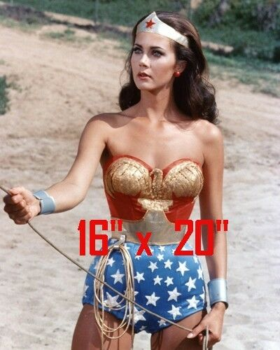 "Lynda Carter~Wonder Woman~#1~Color~Photo~ Poster~16/"" x 20/"""