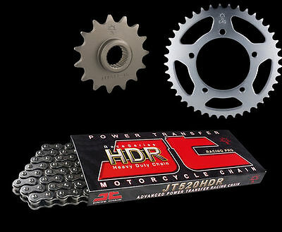 Honda VLX750 Shadow RC44 Gold Heavy Duty X-Ring Chain and Sprocket Kit Set
