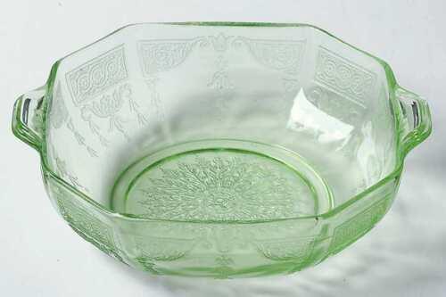 Anchor Hocking PRINCESS GREEN Cereal Bowl 6336