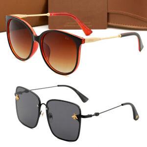 1c4a3865b36 New Women Men Sunglasses Retro Style Big Frame Fashion Eyewear 2019 ...